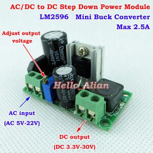 AC-DC-to-DC-Step-Down-Voltage-Converter-3-3V-5V-12V-Rectifier-Filter-Buck-Board