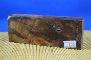 Stabilized-Myrtle-Burl-Knife-Scales-Handle-Block-Pen-1750
