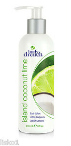 Body-Drench-Isla-Coconut-Lime-Body-Lotion-desgravaciones-de-Dry-Skin-8oz