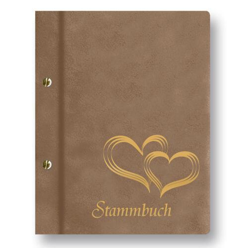 Stammbuch Glamour A4 taupe Familienbuch Stammbuch der Familie Dokumentenbuch