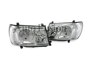 Headlights Pair For Toyota Landcruiser 100 Series , FJ105 (2005-2007)
