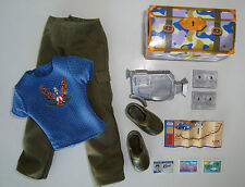 Barbie/KEN Doll Clothes W/ Travel Accessories NEW!