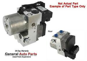 10 TUNDRA: Anti-Lock Brake Part, ABS Unit, Regular Cab, long box, from 11/09