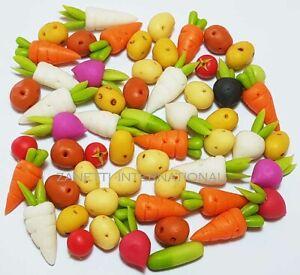 50-Piece-Dollhouse-Miniature-Mixed-Vegetables-Set-Doll-Mini-Food-Carrot-Potato
