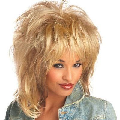 ROCKIN 'SOUL Perruque Tina Turner Blonde