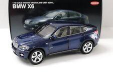1:18 Kyosho BMW X6 xDrive5.0i blue boxed bei PREMIUM-MODELCARS