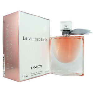 la vie est belle by lancome 2 5 oz edp perfume for women new in box ebay