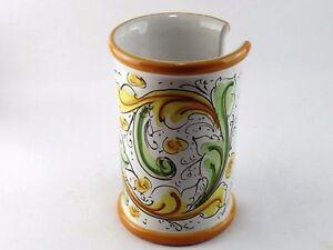 Oggetti Ceramica Di Caltagirone.Portabicchieri Porta Bicchieri Da Tavolo Cucina In Ceramica Di