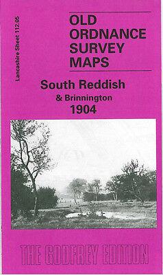 OLD ORDNANCE SURVEY MAP PARTINGTON 1904 IRLAM CADISHEAD BRIDGE TANNERY THE GREEN