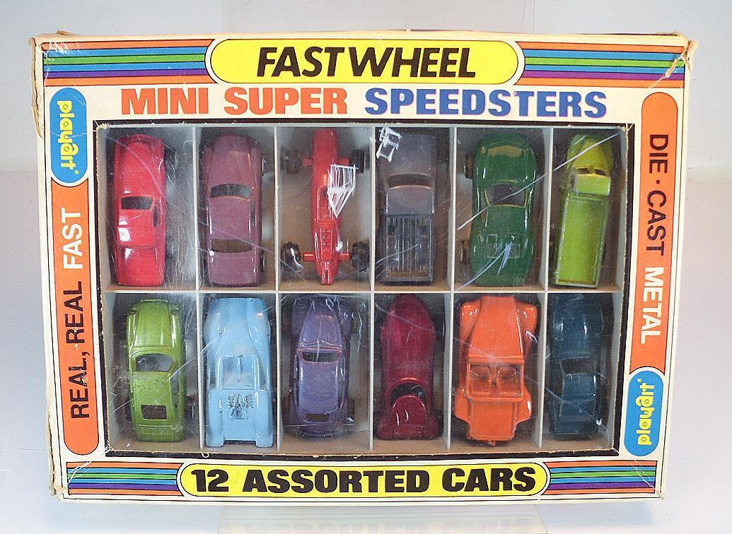 Playart Play type presque Wheel Mini Super Speedster Set avec 12 modèles I neuf dans sa boîte  2390