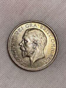 George V Shilling 1929 UNC