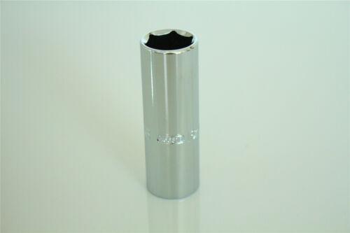 "1//2/"" Drive 16mm Spark Plug Socket 65mm Long CR-V Steel Silver Tone"