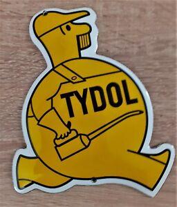 Emaille Schild TYDOL 16x12cm