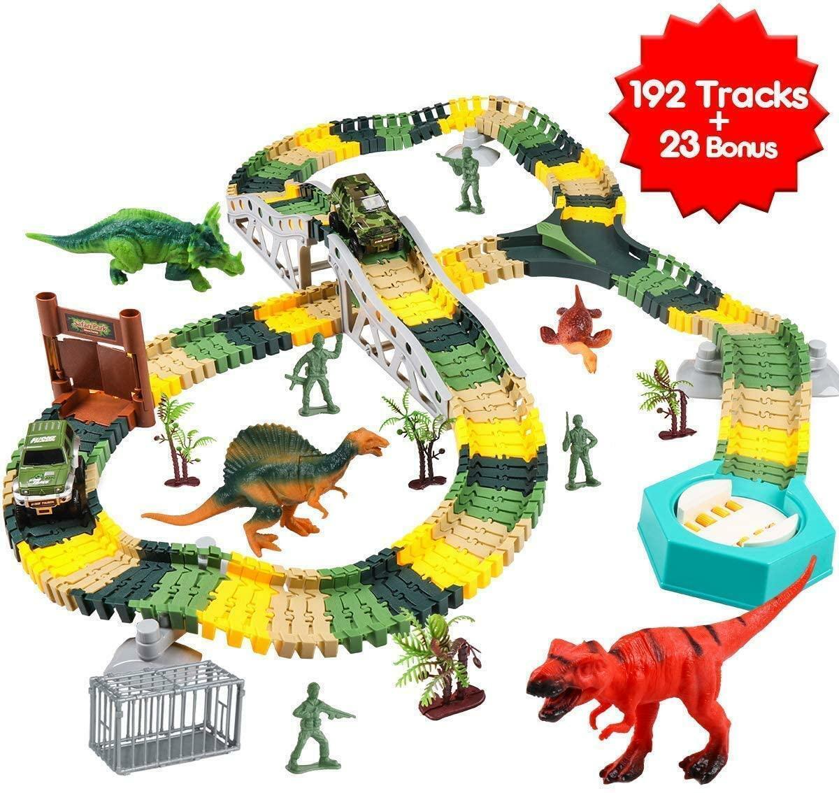 kids toys Dinosaur park car adventure