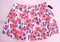 Inc Women Flower Shop2 A-line Skirt Floral Sugar Plum Roses 16w