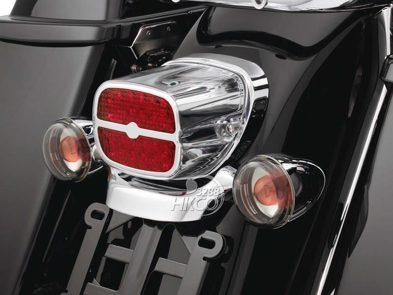 Red Led Tail Brake Turn Light For Harley Road King Electra