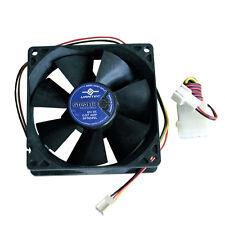 Vantec Stealth SF9225L 92mm x 25mm 2 Ball Bearing Case Fan Molex Adapter Screws