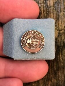 Vintage Ford Service Medallion Manager Pin Tie Lapel Pin 10k Gold Filled