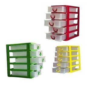 Cassettiera multiuso plastica cassetti porta miniature - Cassettiere plastica ikea ...