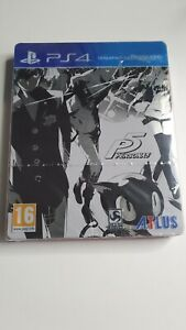 Persona 5 Édition Steelbook FR Neuf PS4