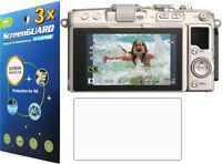3x Clear Lcd Screen Protector Film Olympus Pen Lite E‑pl5 E-pl6 E-pl7 Pen-f