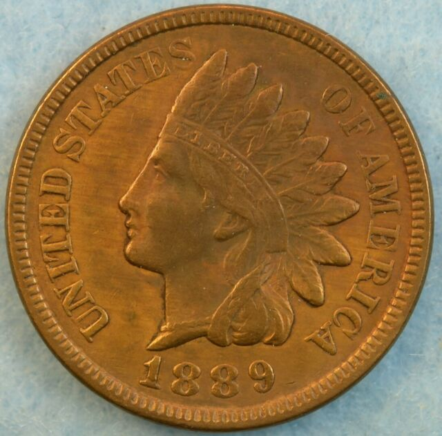 1889 Indian Head Cent Penny Very Old Coin Fast S&H 36154