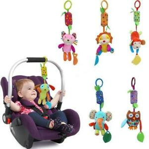 Baby Bell Toys Baby Lovely Hanging Rattle Bed Stroller Crib Hand Bell Wind RD
