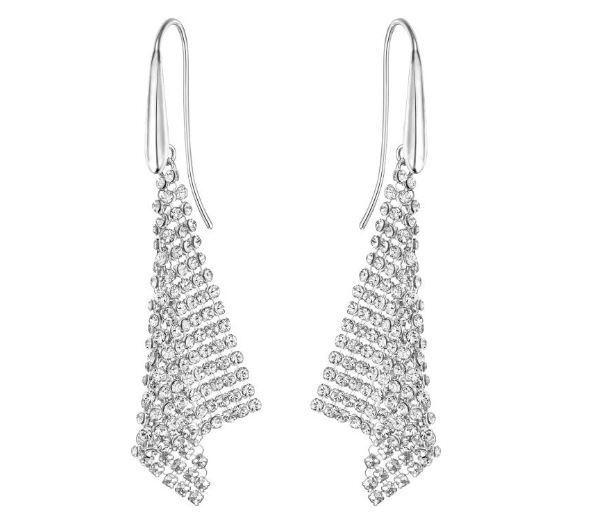 Swarovski 5143068 Fit Small Pierced Earrings Aprx Size 5 5cm Rrp 129