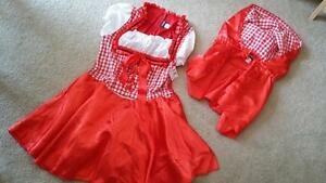 FREDERICK-039-s-Sexy-Little-Red-Riding-Hood-Haloween-Costume-Women-039-s-Sz-XL-NWT