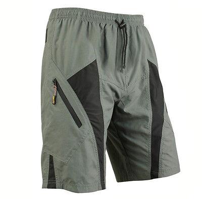 New MTB men's bike cycling padded loose pants 3D Gel coolmax bicycle shorts