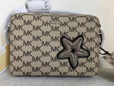 NWT MICHAEL KORS STUDIO Starfish Patch Jet Set travel East West Crossbody Bag