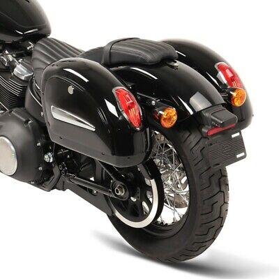 Street 750 Hard saddlebags Alabama 33l for Harley Davidson Fat Boy// Special