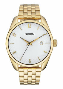 57f522bf2 Nixon Bullet Women's Wrishwatch with Gold Strap and White Dial - A418-508-00