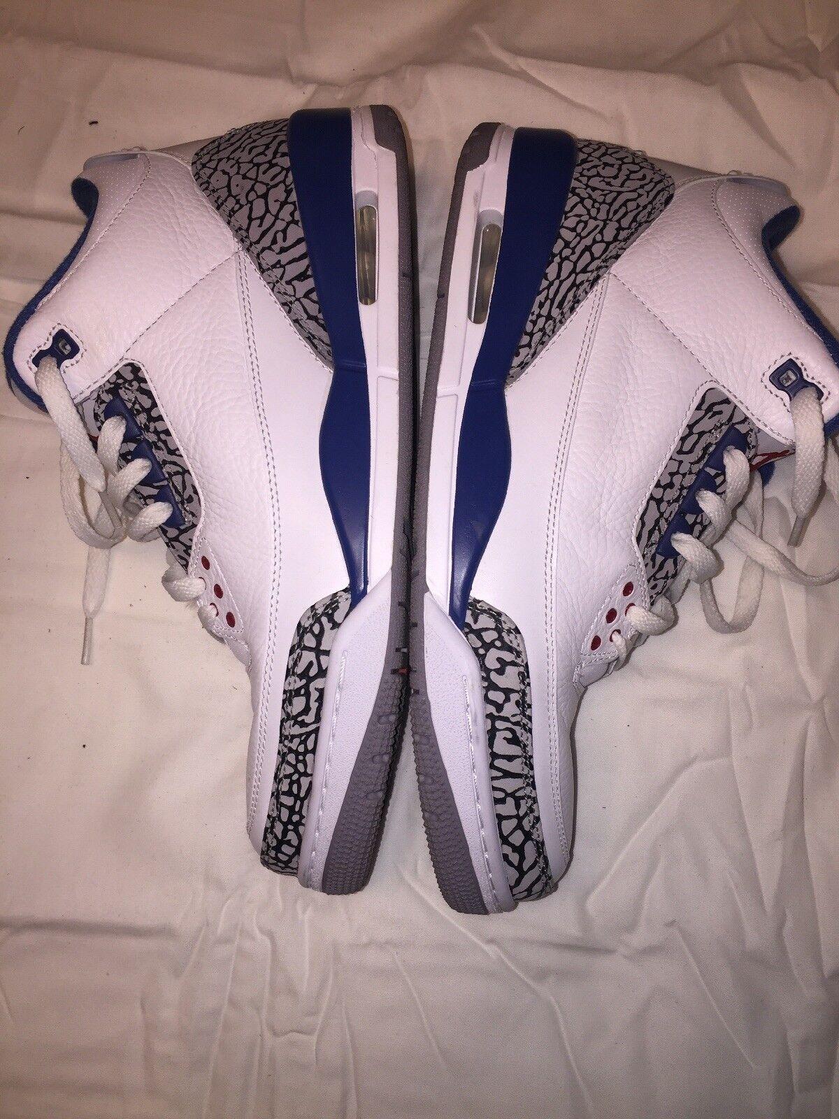 Jordan 3 Retro  True bluee (2011)  Sz 11.5