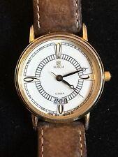 Ladies Citizen Noblia Calendar Wrist Watch 4610-E61279Y with Leather Strap
