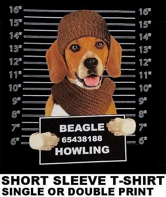 BEAGLE dog T-shirt COME TO THE BARK SIDE dark side we have cookies