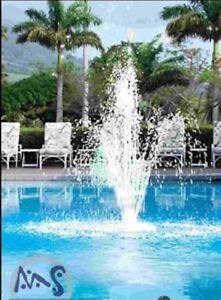 Das Bild Wird Geladen Springbrunnen Fuer Die Einlaufduesen Wasserspiel Pool  Fontaine Einlaufduese