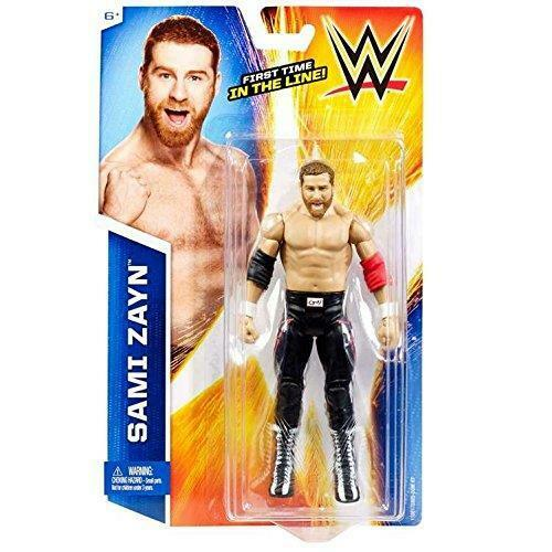 Sami Zayn Basic Series 50 WWE Mattel toute nouvelle figure jouet-Menthe Emballage