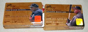 MLB-1995-Studio-Gold-Credit-Card-Full-50-Baseball-Cards-Set