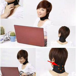 Magnetic-Therapy-Neck-Spontaneous-Self-Heating-Headache-Belt-Neck-Massager-New