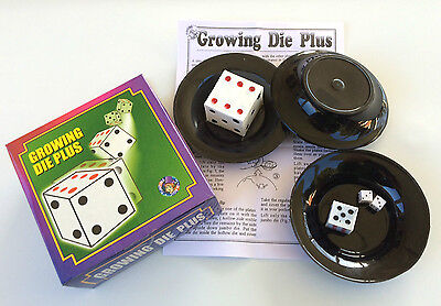 Magic Tricks Jumbo Cards To Giant Dice Magician Stage 5 Dice New Card Dice