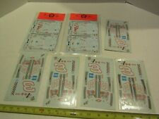 Model Kit Car Kitbash Decals Sheets Parts Accessory Auto Race Racing Earnhardt 3