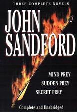 Mind Prey; Sudden Prey; Secret Prey by John Sandford (2000, Hardcover) 3 in ONE