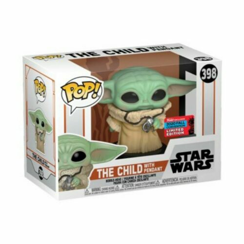 Funko Pop The Child Pendant 2020 NYCC Shared Exclusive CONFIRMED Protector