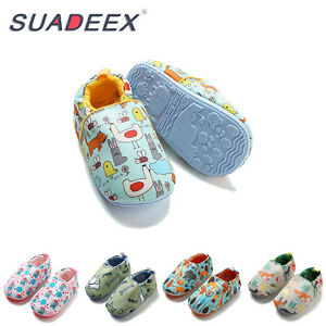 Baby Girls Boys Infant Anti-slip inhouse Crawling Boots First Walker Crib Shoes
