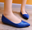 New-Fashion-Womens-Patent-Leather-Flat-Heels-Pointy-Toe-Shoes-Slip-On-Loafers-SZ thumbnail 9