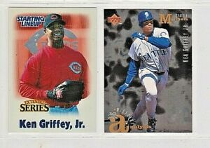 2000 HASBRO STARTING LINEUP EXTENDED SERIES KEN GRIFFY JR #24,95 UD MIDPOINT #11