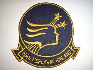 US Navy Patch Naval Air Station NAS KEFLAVIK Iceland