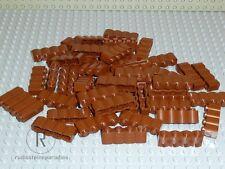 LEGO® 60 Palisadensteine Palisaden 1x4 rotbraun reddish Neu 30137 Western NEU