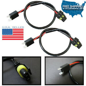 Astonishing 2X H7 Xenon Hid Plug N Play Wires Harness Power Wires Cord Headlight Wiring Digital Resources Timewpwclawcorpcom
